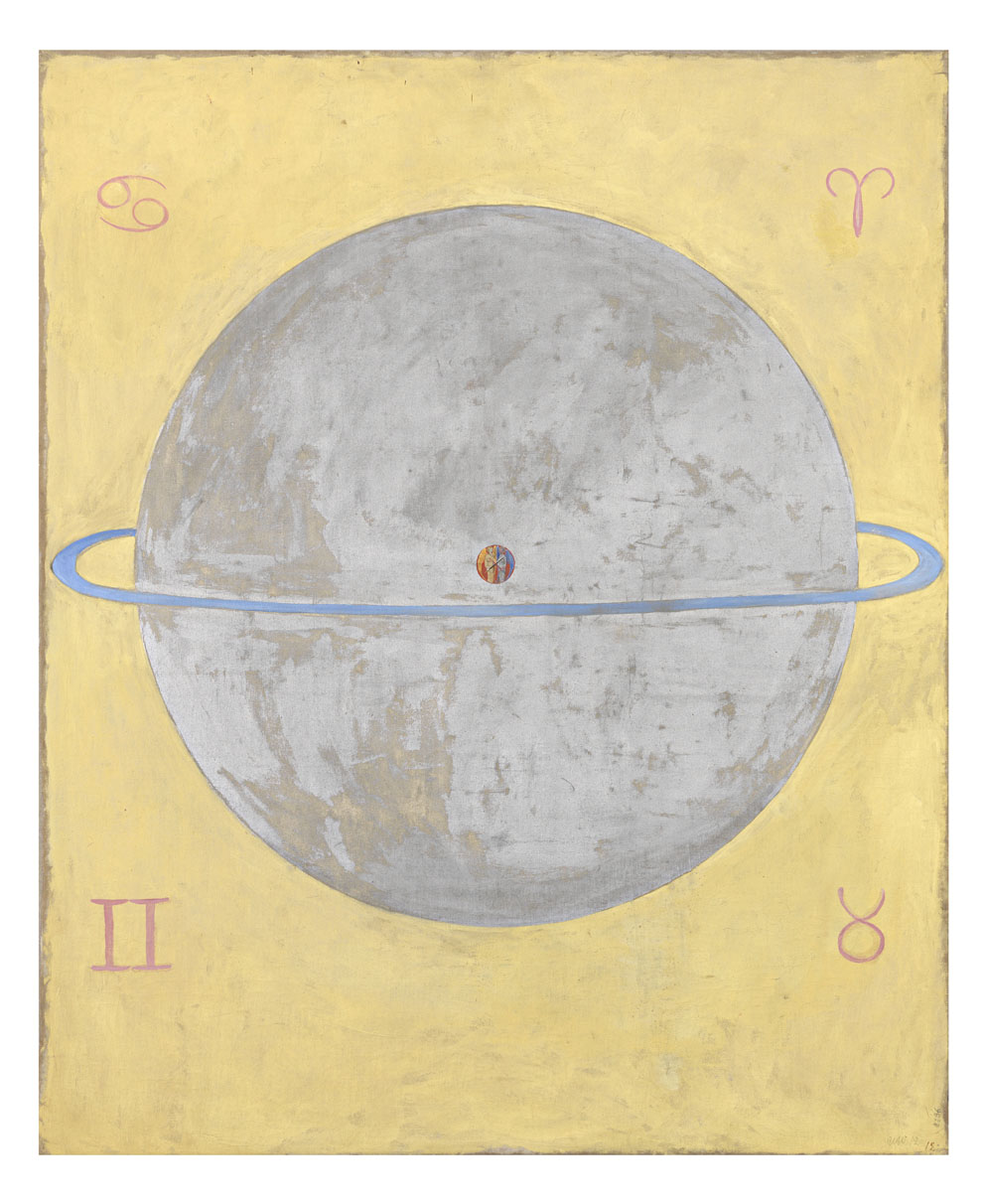 Hilma af Klint The Dove, no. 12, Series UW, 1915