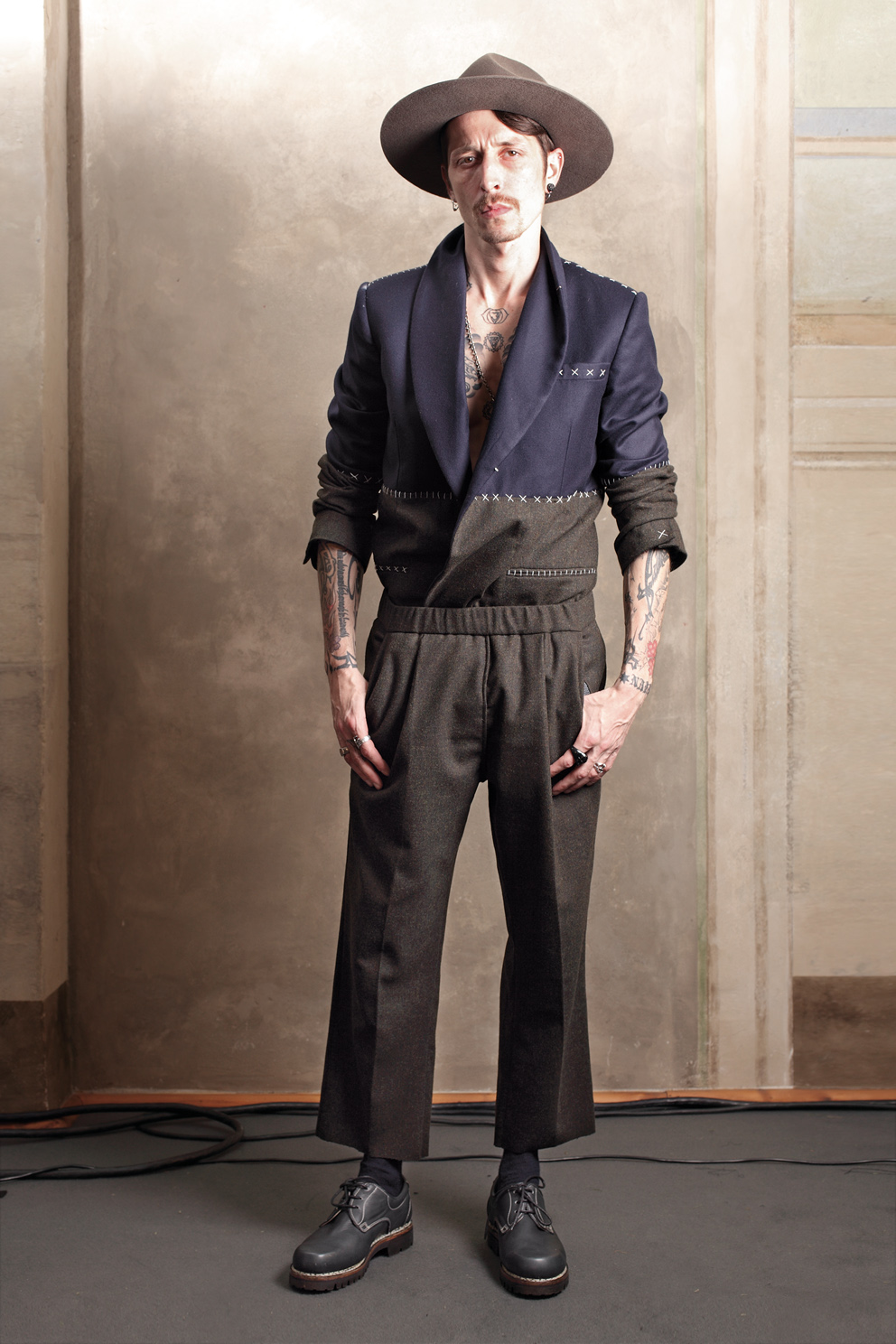 Stephan Olivier for Fabio Quaranta, Autumn/Winter 2011-2012.