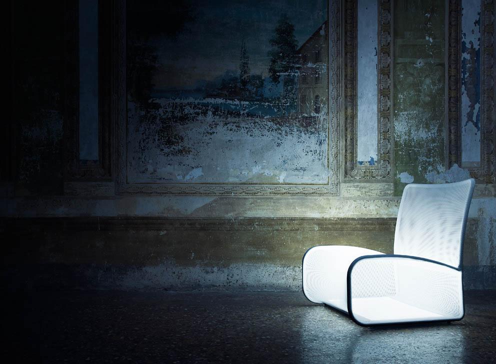 Nuvola di luce, design di Thesia Progetti, 2013.