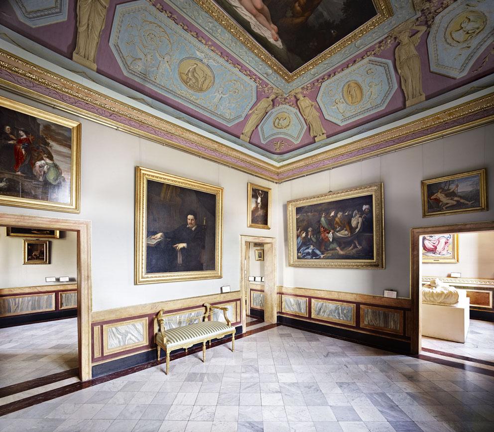 Candida Hofer, Villa Borghese Roma XIV, 2012