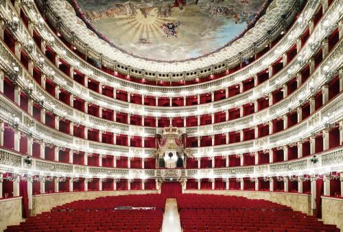 Candida Hofer, Teatro San Carlo Napoli I, 2009