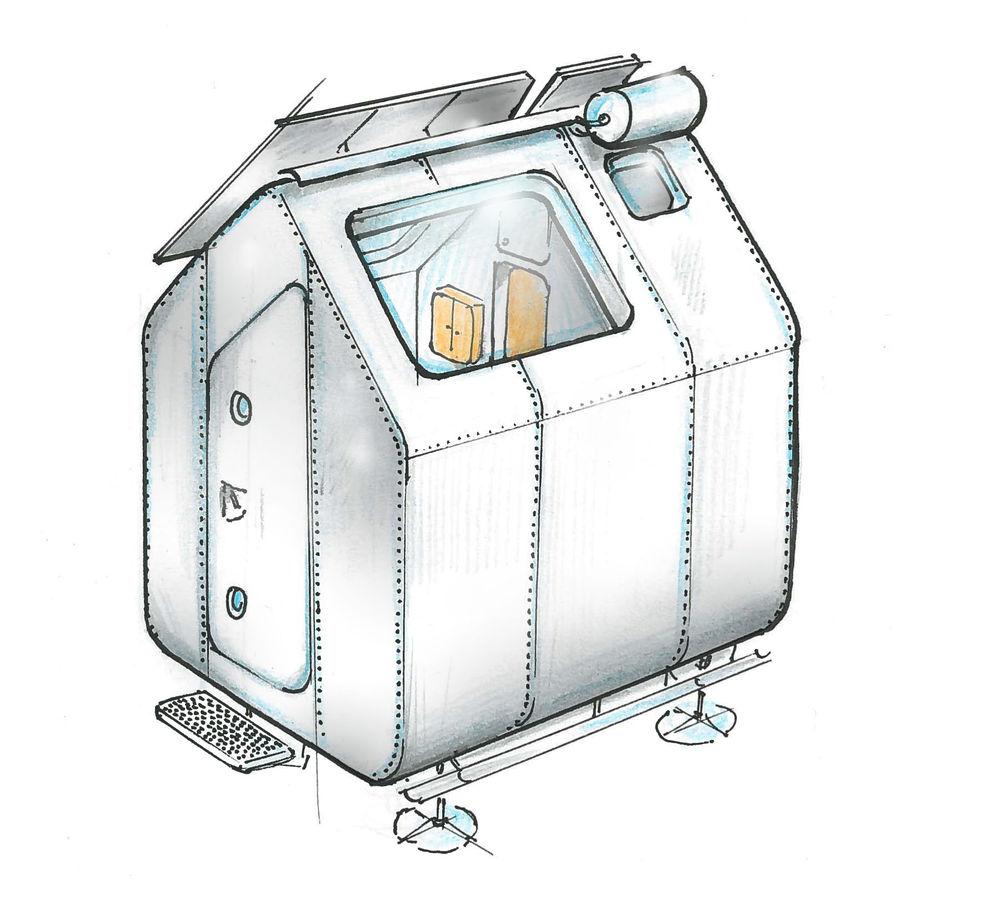 Diogene, progetto di Renzo Piano