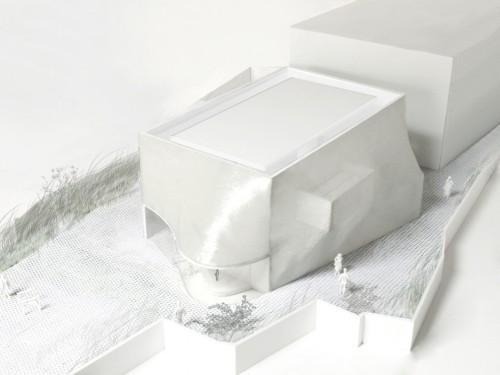 Solid Objectives - Idenburg Liu, Kukje Gallery, 2009/2011. Vista dall'alto/top view. Courtesy: SO-IL