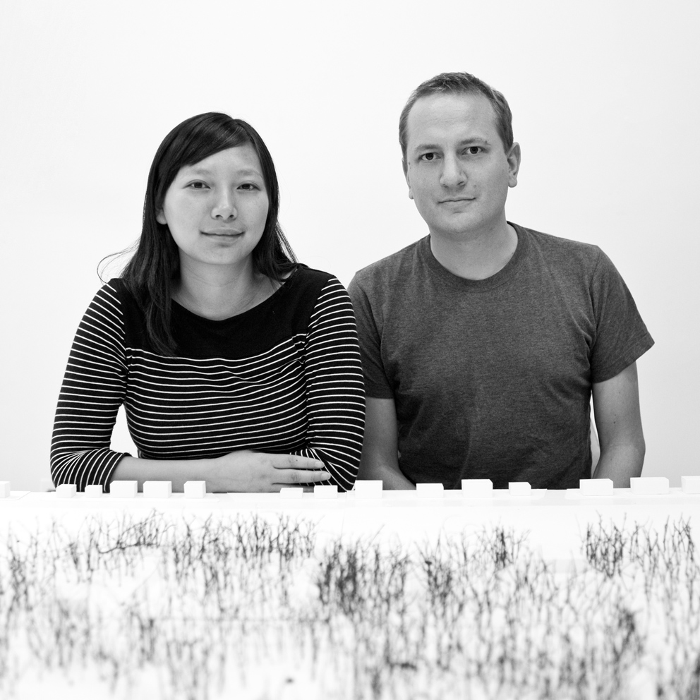 Jing Liu e/and Florian Idenburg, 2009. Photo: Iwan Baan