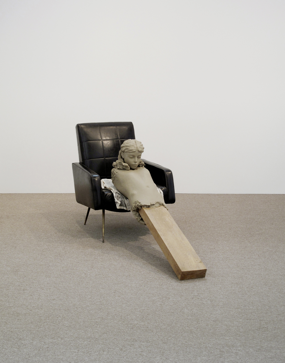 Mark Manders, Ramble Room Chair, 2010