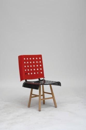 Martino Gamper, 100 Chairs in 100 Days and its 100 Ways, 2005-2007. Photo: Åbäke, Martino Gamper
