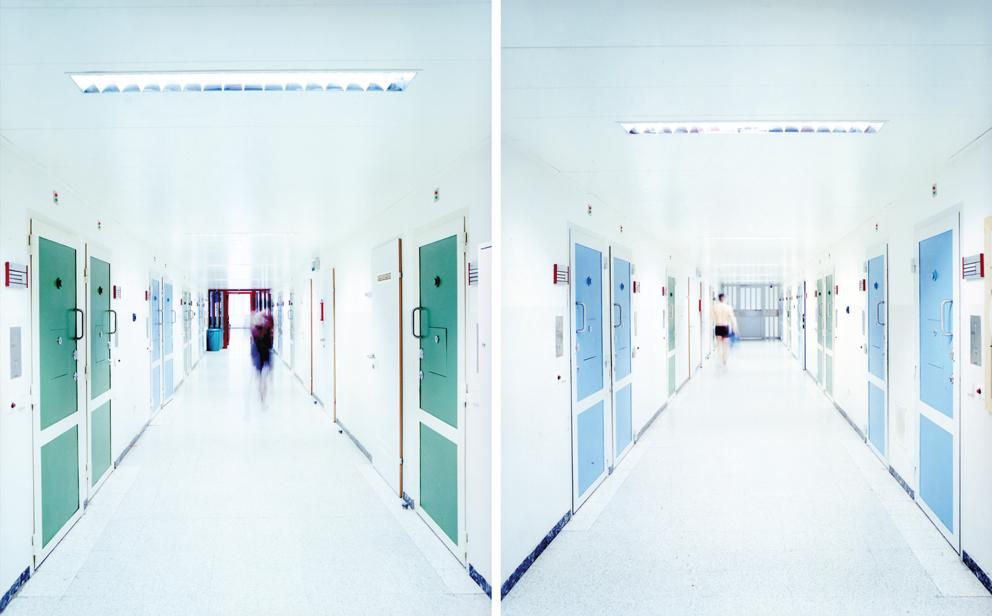 Walter Niedermayr, Raumfolgen, 132/2004. Courtesy: Galleria Suzy Shammah, Milano and Galerie Nordenhake, Berlin/Stockholm.