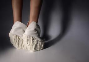 Porcelain Shoes, design by Laura Papp