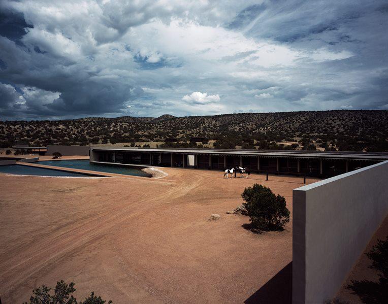 Ranch di Tom Ford, progettato da Tadao Ando