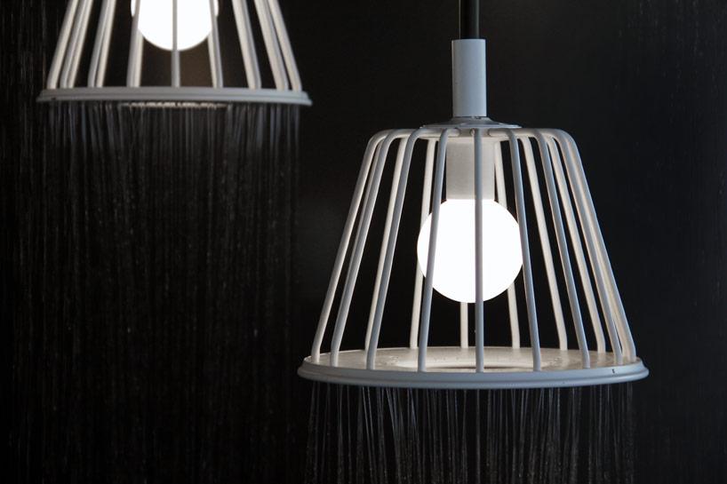 Axor Lamp Shower, progetto di Nendo