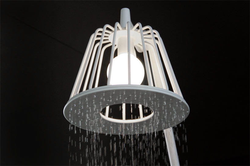 Axor Lamp Shower, progetto di Nendo