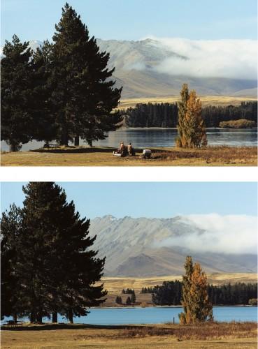 Daniel Gustav Cramer, Tales (Lake Tekapo, New Zealand, 2009), 2010. Courtesy: BolteLang Galerie, Zurich, e/and Daniel Gustav Cramer