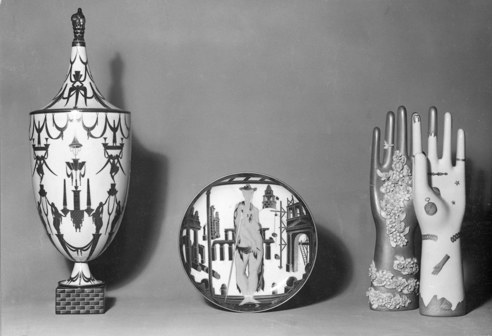 ceramiche disegnate da Gio Ponti per la Richard Ginori, Manifattura di Doccia, 1923