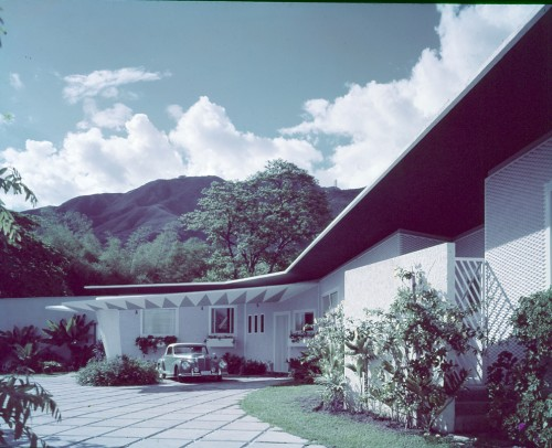 "Villa Arreaza detta ""La Diamantina"", Caracas, Venezuela, 1956. Progetto Gio Ponti."