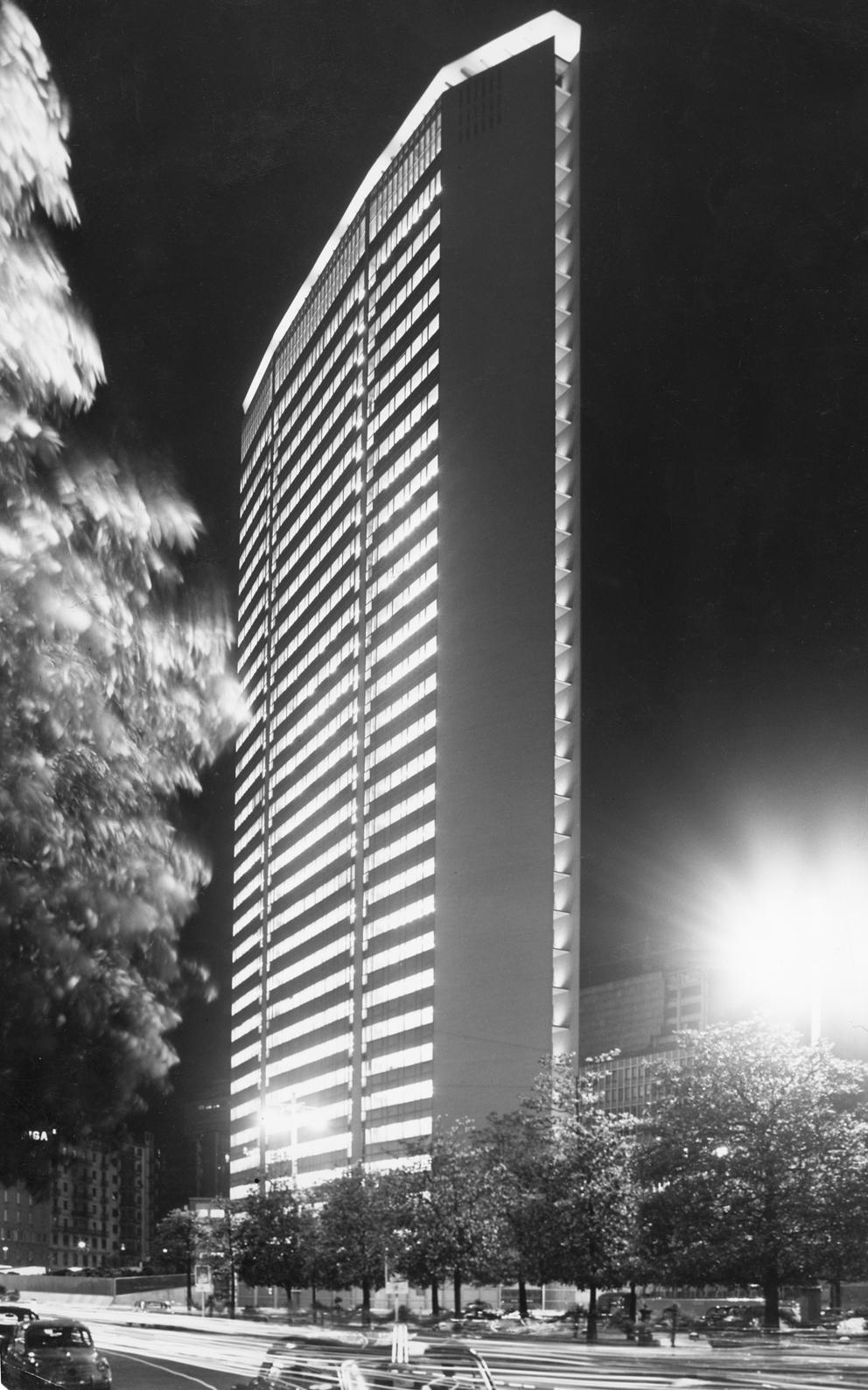 Gio Ponti, Torre Pirelli, Milano, 1956-1960