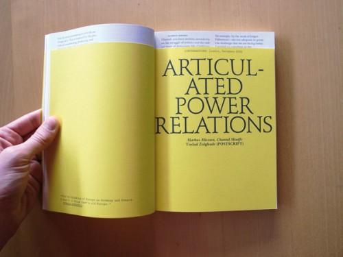 Markus Miessen, intervista su Klat magazine