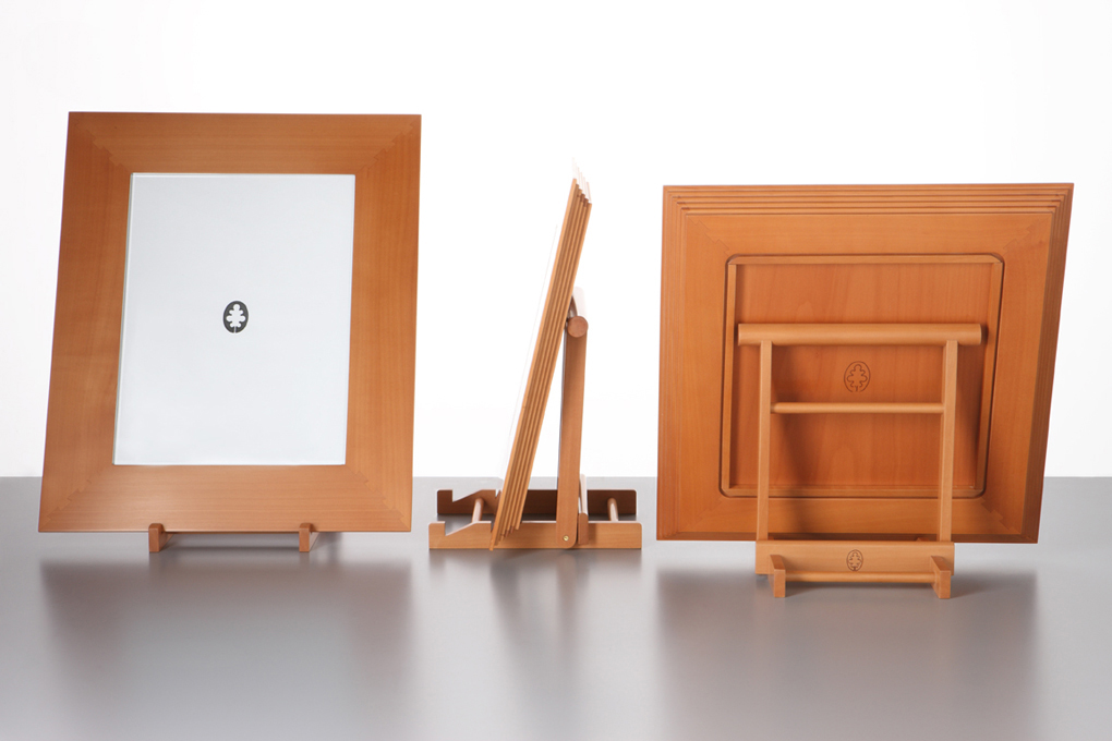 Frames, design by Gae Aulenti for Musée d'Orsay. Photo: Marirosa Toscani Ballo.