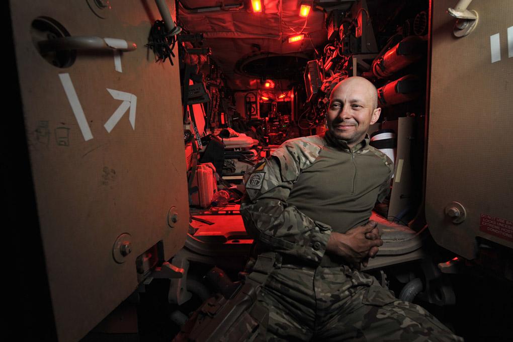 Intervista al caporale caporale Simon Longworth, fotografo militare