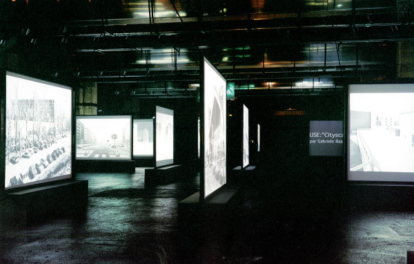 Stefano Boeri, USE - Uncertain States of Europe, Bordeaux, 2000. Installazione per la mostra Mutations. Multiplicity, Milano.