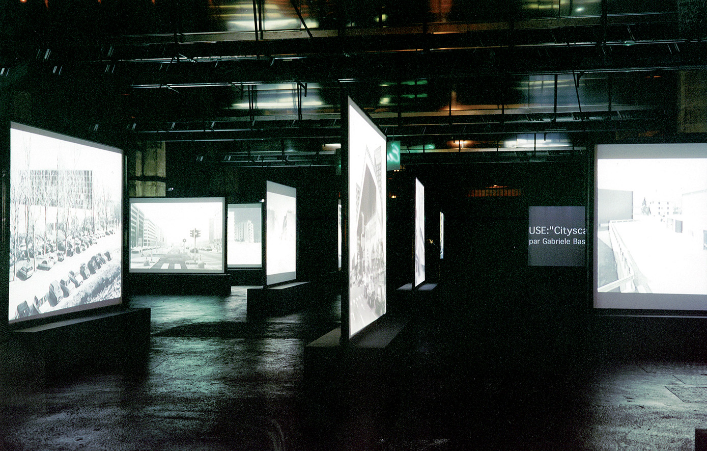 Stefano Boeri, USE - Uncertain States of Europe, Bordeaux, 2000. Installazione per la mostra Mutations. Multiplicity, Milano.