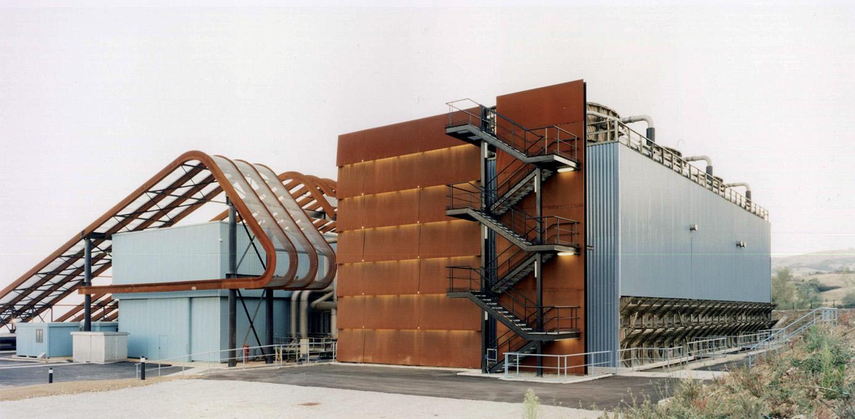 Stefano Boeri, Enel Bagnore 3, Santa Fiora di Grosseto, 1997. Impianto geotermico.