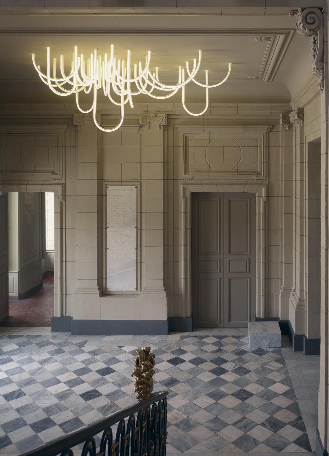 Lustre Borely, design di Mathieu Lehanneur