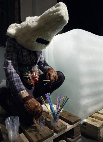 Michael Fliri, The polar bear, 2005.
