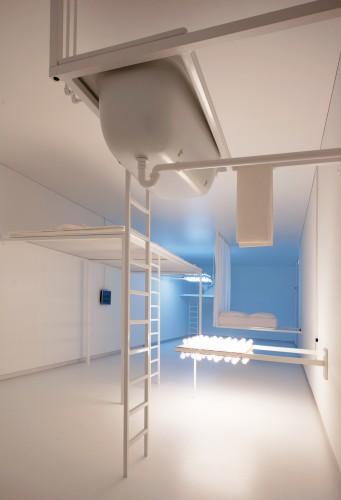 Philippe Rahm Architectes, Domestic Astronomy, Louisiana Museum of Modern Art, Denmark, 2009. Photo: Brøndum & Co