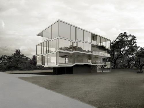 Philippe Rahm Architectes, Convective Building, housing project for IBA-Hamburg, 2010