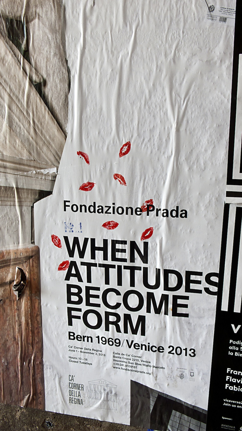 Fondazione Prada, When Attitudes Become Form, Venezia 2013