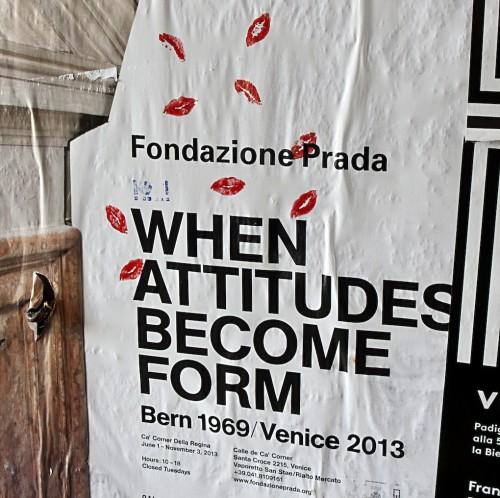 Thomas Demand, When Attitudes Become Form Venice 2013