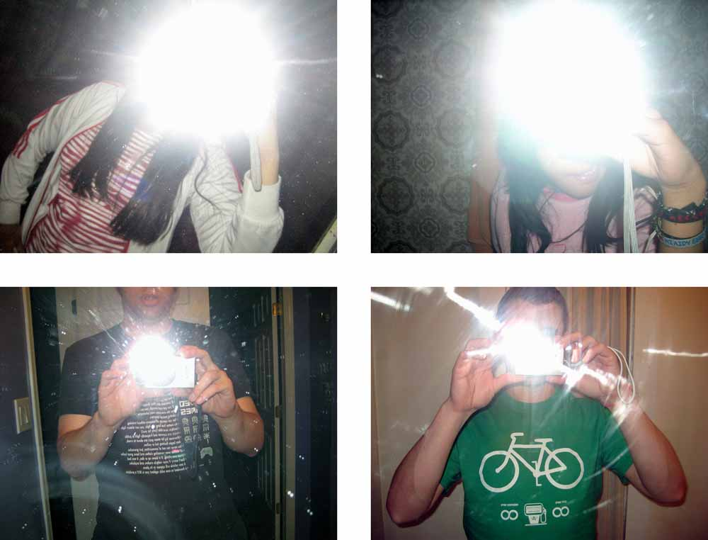 Joachim Schmid, Other People's Photographs, Flashing, 2008–2011.