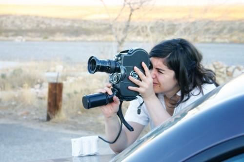 Rosa Barba. Mojave Desert, 2007. Foto: Jan St. Werner