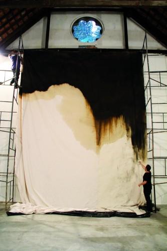 Thiago Rocha Pitta, Com Temporal Painting, 2010. Foto: Thiago Rocha Pitta