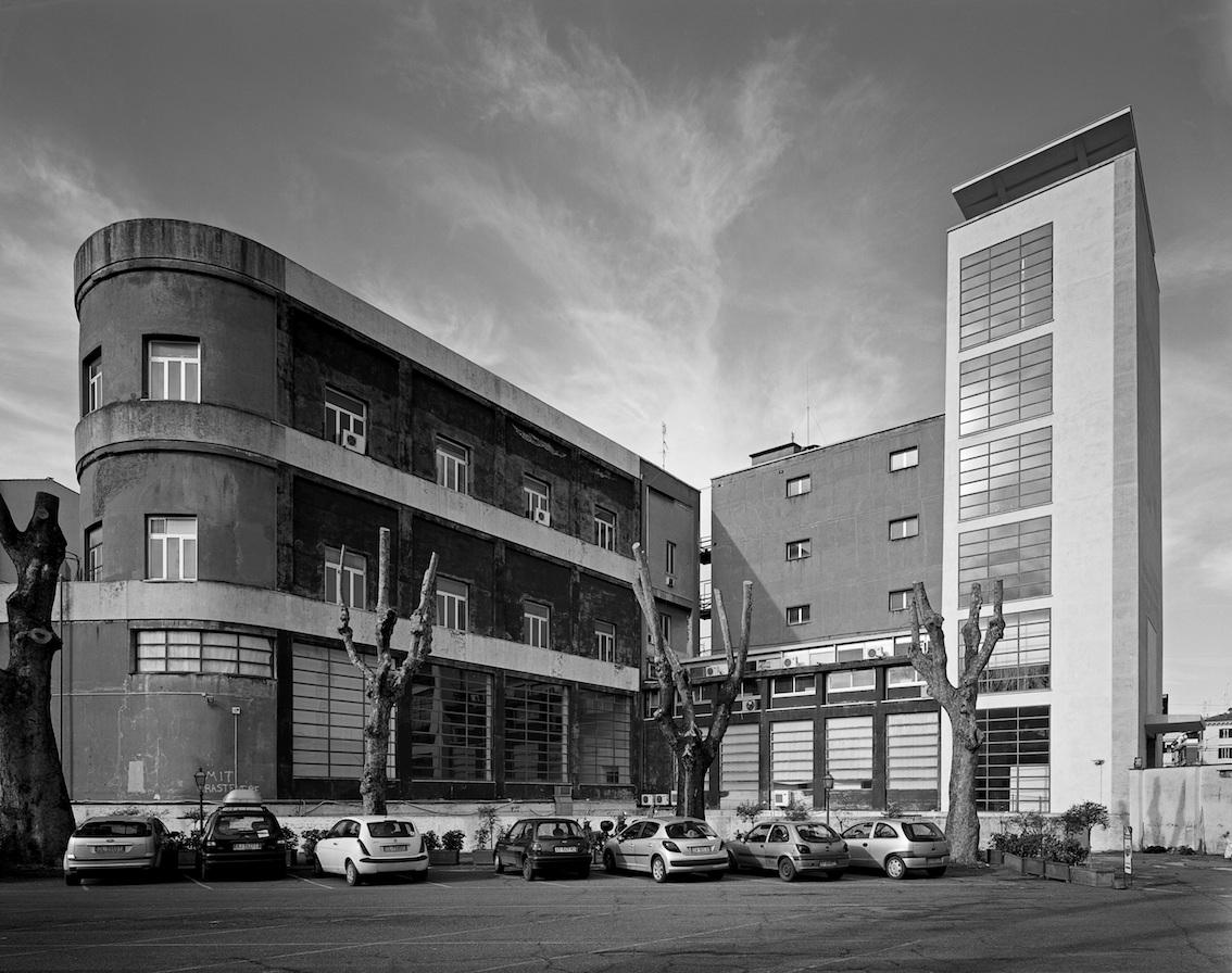 Gabriele Basilico, Roma, Casa Balilla, 2010