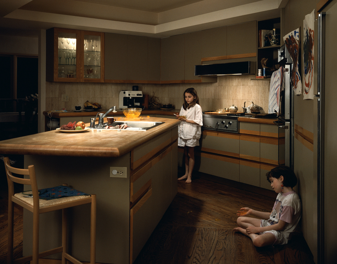 Jeff Wall in Munich, Pinakothek der Moderne.