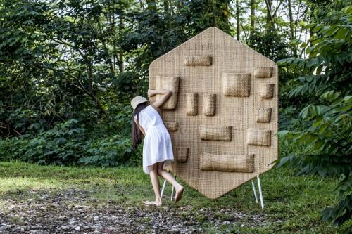BILIK room divider, design di Lanzavecchia + Wai, 2013
