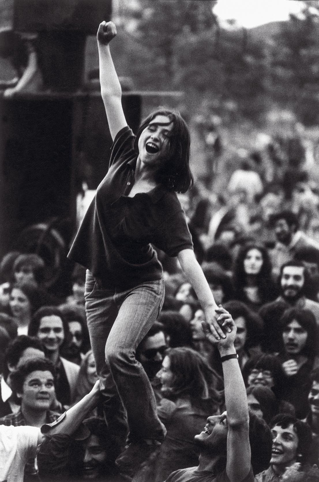 Lotta continua, 1977. Foto di Toni Thorimbert.