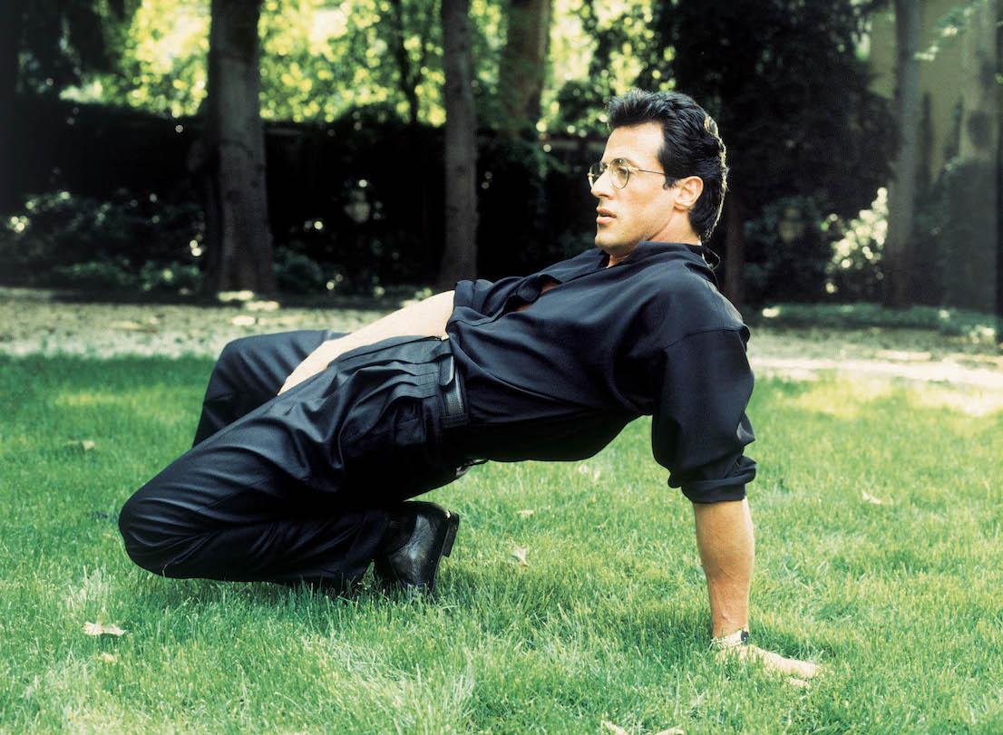 Sylvester Stallone,1991. Foto di Toni Thorimbert
