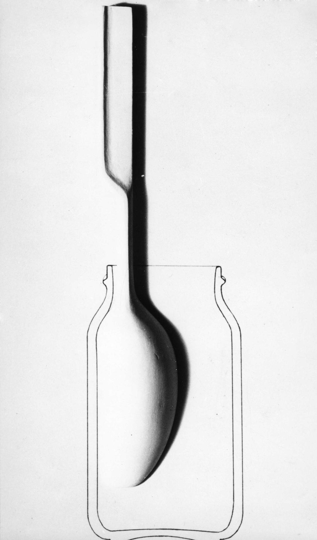 Sleek, design di/by Achille Castiglioni e/and Pier Giacomo Castiglioni, 1962. Schizzo/Sketch.