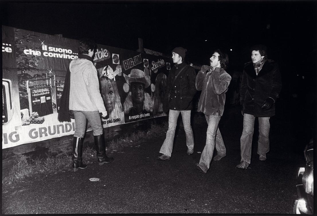Quarto Oggiaro, 1977. Foto di Toni Thorimbert.