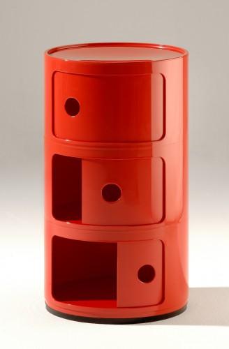 Componibili, design di Anna Castelli Ferrieri per Kartell