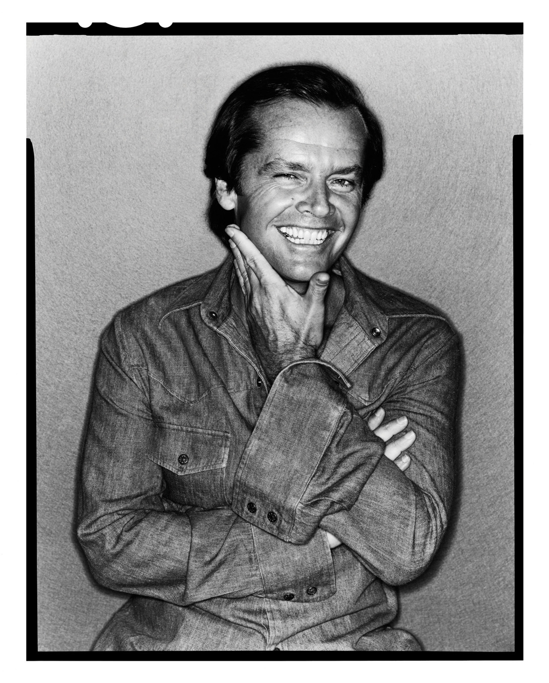Jack Nicholson by David Bailey, 1978 © David Bailey