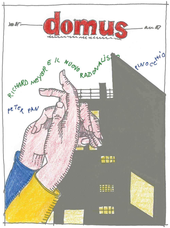 Domus, schizzi, 1986-1992. / Domus, sketches, 1986-1992.