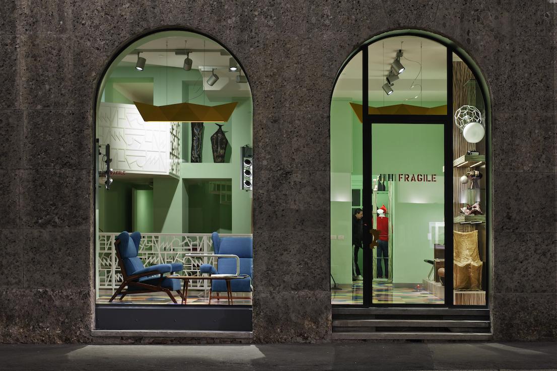Galleria Fragile, a Milano.