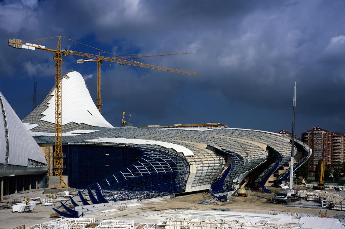 Heydar Aliyev Center, progetto di Zaha Hadid