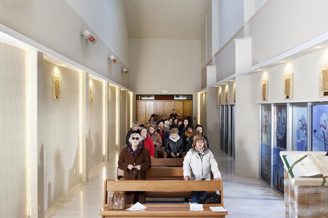 Andate in Pace, Chiesa di Santa Cecilia, Potenza. Domenica, ore 9:38.