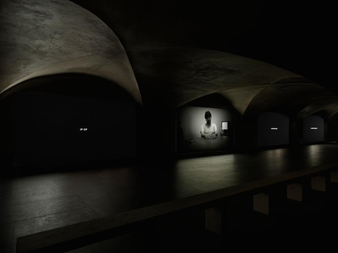 Yuri Ancarani, Ricordi per moderni, 2000-2009 installation view Museo Marino Marini, 2012