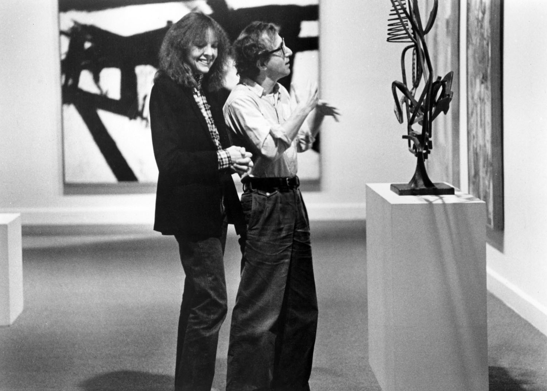 Diane Keaton e Woody Allen, una scena di MANHATTAN, 1979.