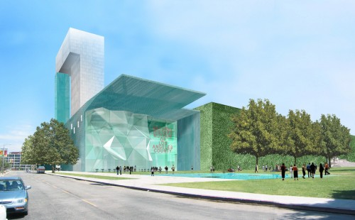 Stephen Holl, Natural History Museum Addition, 2002. (Courtesy Steven Holl Architects)